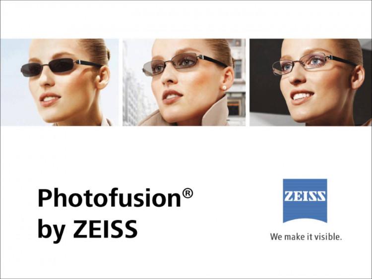 Фотохромні лінзи PhotoFusion від Carl Zeiss Vision