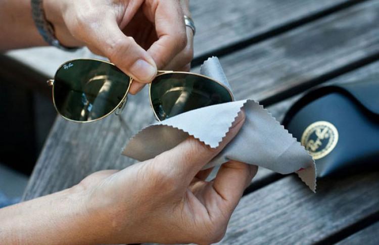 Правила ухода за солнцезащитными очками